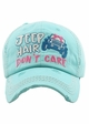 Jeep Hair Don't Care Baseball Hat inset 4