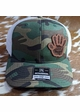 Jeep Wave Leather Patch Trucker Hat inset 1