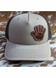 Jeep Wave Leather Patch Trucker Hat inset 2