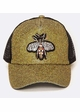Queen Bee Jeweled Baseball Hat inset 1