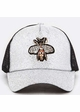 Queen Bee Jeweled Baseball Hat inset 2