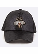 Queen Bee Jeweled Baseball Hat inset 3