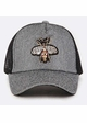Queen Bee Jeweled Baseball Hat inset 4