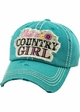 JUST A COUNTRY GIRL Vintage Baseball Hat inset 2
