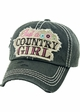 JUST A COUNTRY GIRL Vintage Baseball Hat inset 4