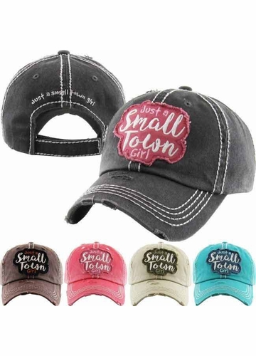 Just a Small Town Girl Baseball Hat