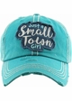 Just a Small Town Girl Baseball Hat inset 1