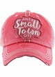 Just a Small Town Girl Baseball Hat inset 2