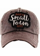 Just a Small Town Girl Baseball Hat inset 3