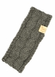 KIDS Cable Knit CC Headband with Plush Lining inset 4