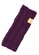 KIDS Cable Knit CC Headband with Plush Lining inset 3