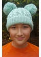 KIDS Knit Solid Color CC Beanie Hat with Two Pom Poms inset 4