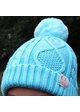 Kids Lined Cable Knit CC Beanie with Pom inset 4