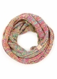 KIDS Multi Color Knit CC Infinity Scarf inset 2