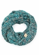 KIDS Multi Color Knit CC Infinity Scarf inset 4