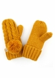 KIDS Pom Pom Mitten Gloves with Lining inset 3