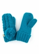 KIDS Pom Pom Mitten Gloves with Lining inset 4