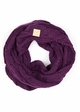 KIDS Cable Knit CC Infinity Scarf inset 2