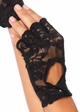 Lace Fingerless Gloves inset 1