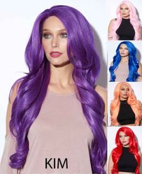 Kim- Long Lace Front Wig
