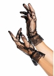 Lace Wrist Gloves with Ruffle Trim inset 1