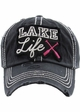 Lake Life Washed Vintage Ballcap inset 1