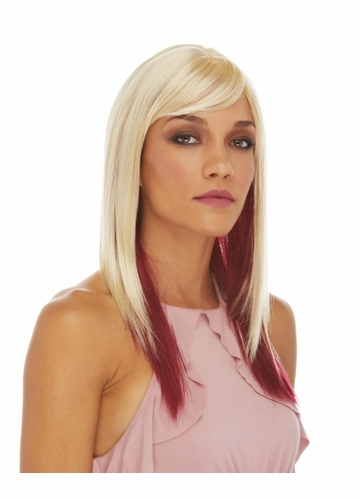 Layered Straight Jewel Wig with Side Bangs