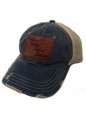 Leather Country Legends Patch Baseball Hat