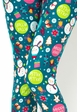Let It Snow Peach Skin Leggings inset 1