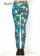 Let It Snow Peach Skin Leggings inset 2
