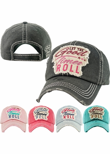 Let The Good Times Roll Vintage Ballcap