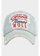 Let The Good Times Roll Vintage Ballcap inset 1