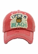 Life Is a Beach Vintage Baseball Hat inset 1