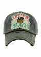 Life Is a Beach Vintage Baseball Hat inset 2