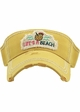 Life's a Beach Washed Vintage Sun Visor inset 4