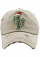 Limited Edition Christmas Cactus Baseball Hat inset 4