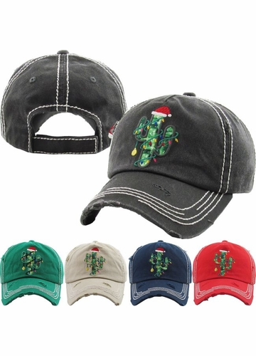 Limited Edition Christmas Cactus Baseball Hat