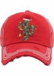 Limited Edition Christmas Cactus Baseball Hat inset 1