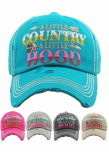 Little Country Little Hood Baseball Hat