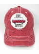 Live Simply Bus Baseball Hat inset 1