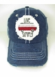 Live Simply Bus Baseball Hat inset 2
