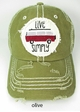 Live Simply Bus Baseball Hat inset 4