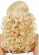 Long Bombshell Curly Wig in Blonde inset 1