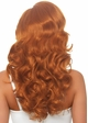 Long Bombshell Curly Wig in Red inset 2