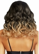 Long Curly Ombre Bob Wig in Blonde inset 1