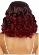Long Curly Ombre Bob Wig in Burgundy inset 1