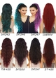Long Mermaid Curls Lace Front Wig Saga inset 4