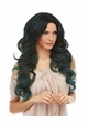 Long Mermaid Curls Lace Front Wig Saga inset 1