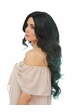 Long Mermaid Curls Lace Front Wig Saga inset 2