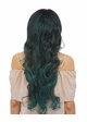 Long Mermaid Curls Lace Front Wig Saga inset 3